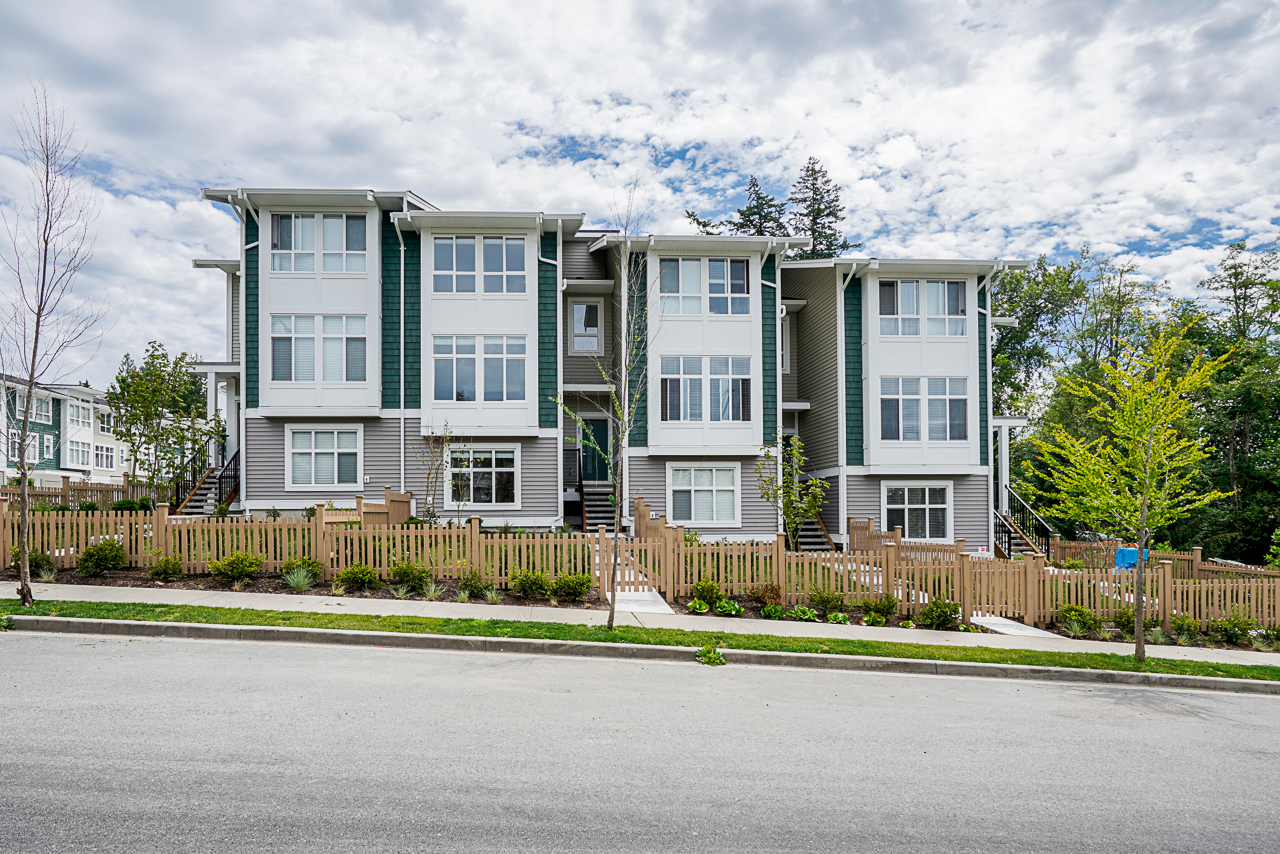"""A Masterplanned community located at the foothills of the breathtaking coastal mountains and wide blue skies of Maple Ridge set the stage for Ridgemont, a collection of 3 and 4-bedroom townhomes designed for today's family. Featuring spacious home layouts with parking for at least two vehicles, and a true """"whole"""" family-oriented amenity building that acts as an extension for each and every home."""