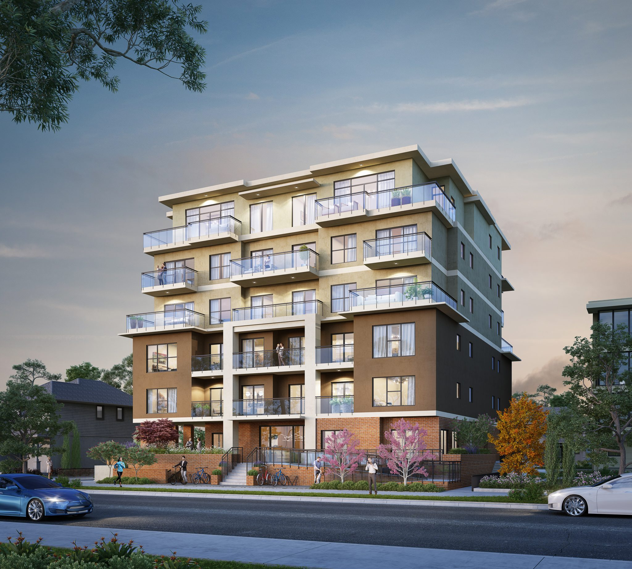 A contemporary collection of 1 bed + den, 2 bed, and 2 bed + den homes, Estella redefines the urban living experience in Port Coquitlam. With premium city and mountain views, an Estella home is the ideal backdrop to those precious moments at home.