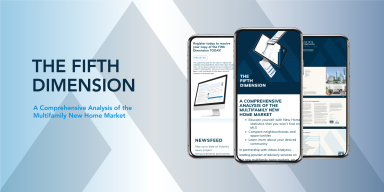 The Winter edition of Fifth Avenue's 'The Fifth Dimension' is our 40th! For over 10 years we have been presented a concise quarterly summary of the multifamily market. This Winter Edition chronicles the pandemic-influenced year that was 2020 and sets a perspective course for 2021.